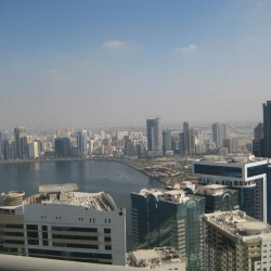 For sale, 3 bedrooms apt. with full water view on Khalid lagoon