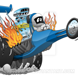 top_fuel_dragster_cartoon_by_hobrath-dcqrrz3